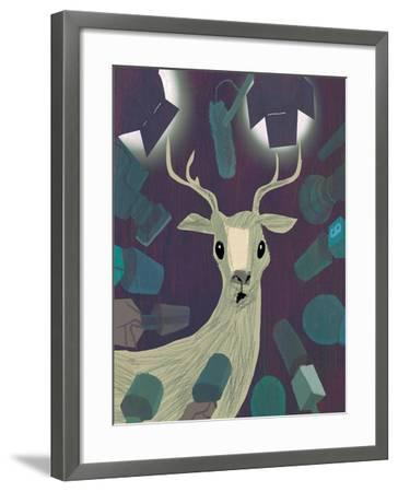 In The Spotlight-A Richard Allen-Framed Giclee Print
