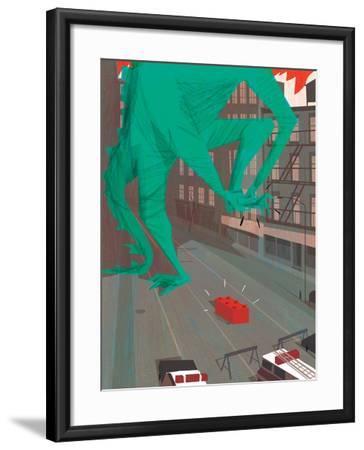 Ouch!-A Richard Allen-Framed Giclee Print