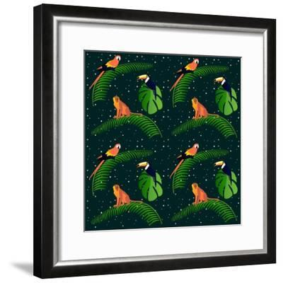 Jungle Fever-Claire Huntley-Framed Giclee Print