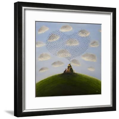Heart Murmuration-Chris Ross Williamson-Framed Giclee Print