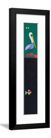 The Last Sunset Of The Pelican-Cristina Rodriguez-Framed Giclee Print