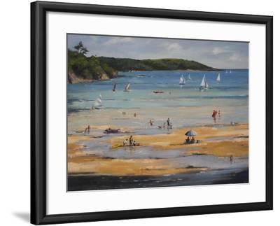 Beach-Jennifer Wright-Framed Giclee Print