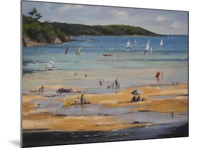 Beach-Jennifer Wright-Mounted Giclee Print