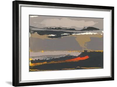 Ceide Study II-Grainne Dowling-Framed Art Print