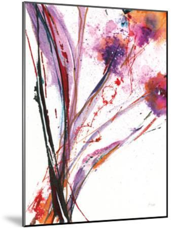 Floral Explosion III on White-Jan Griggs-Mounted Art Print