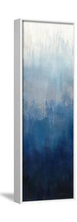 Silver Wave II-Silvia Vassileva-Framed Stretched Canvas Print