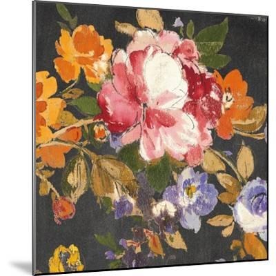 Summer Garden III Black-Wild Apple Portfolio-Mounted Art Print