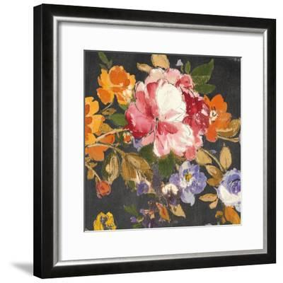 Summer Garden III Black-Wild Apple Portfolio-Framed Art Print