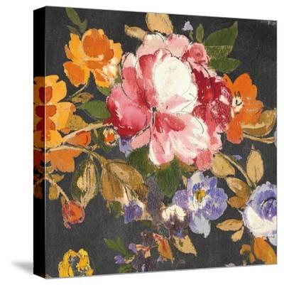 Summer Garden III Black-Wild Apple Portfolio-Stretched Canvas Print