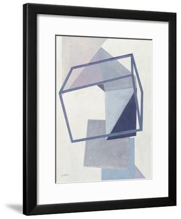 Paper Trail III-Mike Schick-Framed Art Print