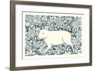 Farm Life IV-Miranda Thomas-Framed Art Print