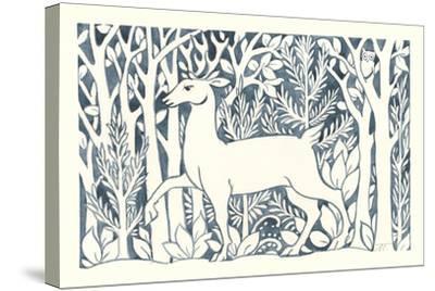 Forest Life V-Miranda Thomas-Stretched Canvas Print