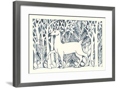 Forest Life V-Miranda Thomas-Framed Art Print