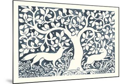 Forest Life III-Miranda Thomas-Mounted Art Print