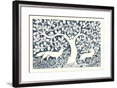 Forest Life III-Miranda Thomas-Framed Art Print