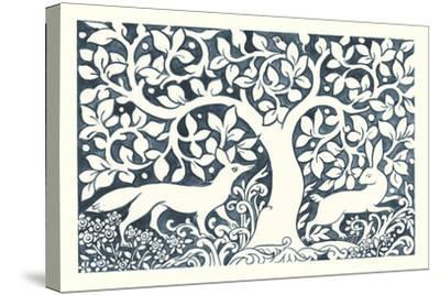 Forest Life III-Miranda Thomas-Stretched Canvas Print