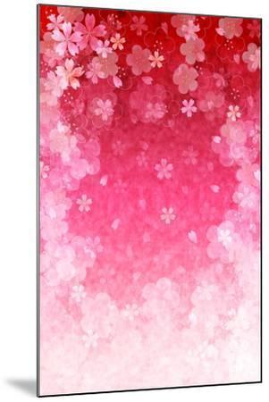 Cherry Plum Greeting Cards- JBOY-Mounted Art Print