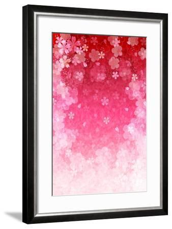 Cherry Plum Greeting Cards- JBOY-Framed Art Print