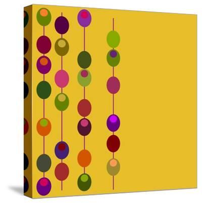 (Vector) Retro Inspired Design with Plenty of Copy Space. A Jpg Version is also Available-PZDesigns-Stretched Canvas Print