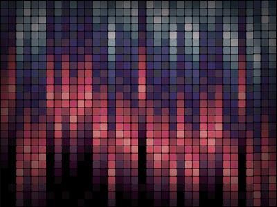 Business Blox - Geometric Repeating Vector Design EPS Format- Undergroundarts co uk-Framed Art Print