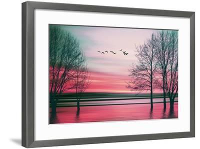 Beautiful Colorful Natural Landscape.-Eva Bidiuk-Framed Art Print