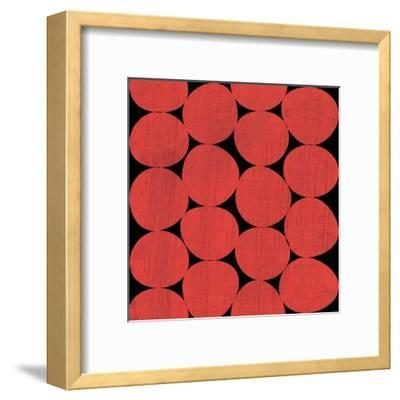 Abstract Painted Design Composition-David S Rose-Framed Art Print