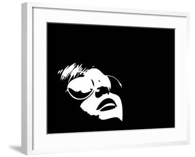 Person with Reflection-Adam Tinney-Framed Art Print