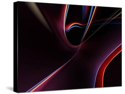 3D Rendered Backgrounds- ESolBiz-Stretched Canvas Print