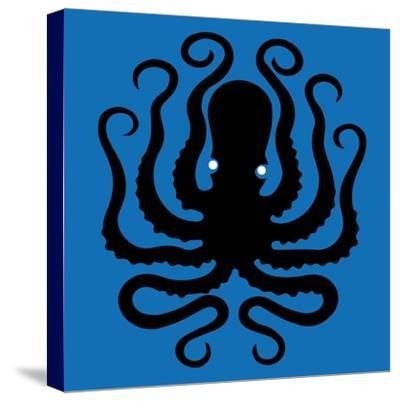 Octopus Icon-Complot-Stretched Canvas Print