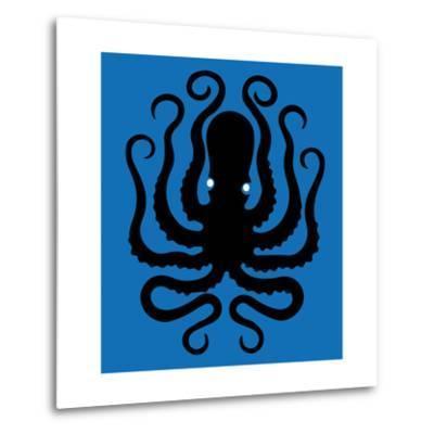 Octopus Icon-Complot-Metal Print
