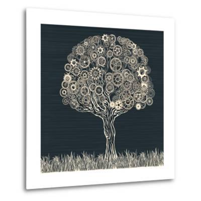Tech Tree.-RYGER-Metal Print