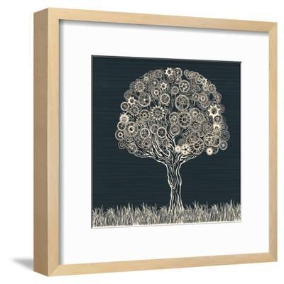 Tech Tree.-RYGER-Framed Art Print