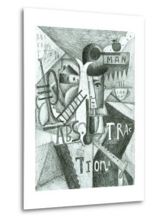 Abstraction-Dmitriip-Metal Print