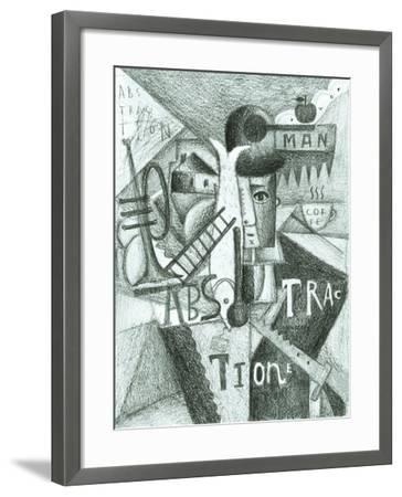 Abstraction-Dmitriip-Framed Art Print