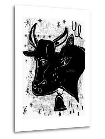 The Symbolic Image of a Cow-Dmitriip-Metal Print