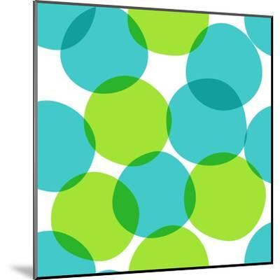Bright Seamless Pattern with Circles. Colorful Abstract Background.-ms Octopus-Mounted Art Print