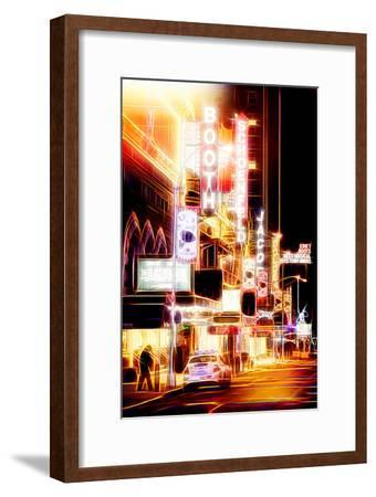 Manhattan Shine - Broadway Shows-Philippe Hugonnard-Framed Photographic Print