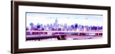 Manhattan Shine - Overview-Philippe Hugonnard-Framed Photographic Print