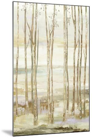 White on white trees-Allison Pearce-Mounted Art Print