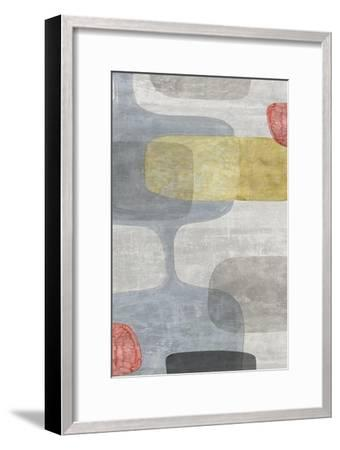 Mid Century Neutral I-Eva Watts-Framed Art Print