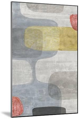 Mid Century Neutral I-Eva Watts-Mounted Art Print