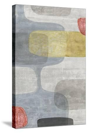 Mid Century Neutral I-Eva Watts-Stretched Canvas Print