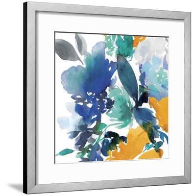 Indigo Flower II-Isabelle Z-Framed Art Print