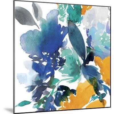 Indigo Flower II-Isabelle Z-Mounted Art Print