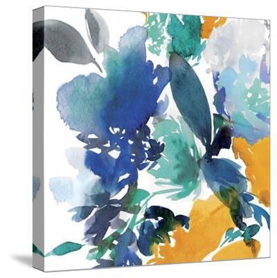 Indigo Flower II-Isabelle Z-Stretched Canvas Print