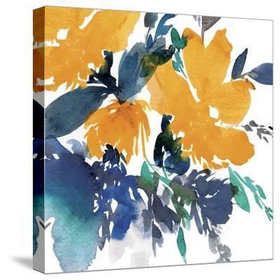 Indigo Flower I-Isabelle Z-Stretched Canvas Print