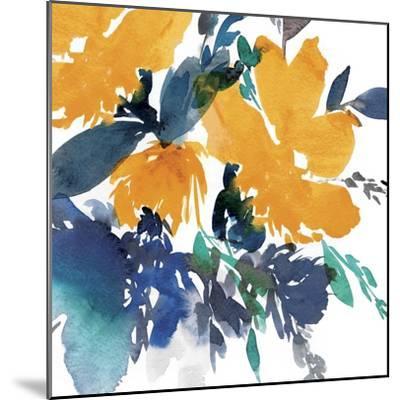 Indigo Flower I-Isabelle Z-Mounted Art Print
