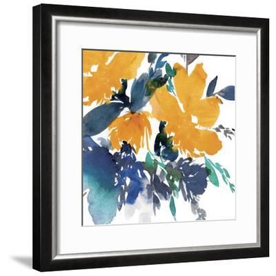 Indigo Flower I-Isabelle Z-Framed Art Print
