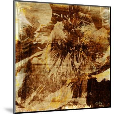 Poppy Gold I-Sia Aryai-Mounted Art Print
