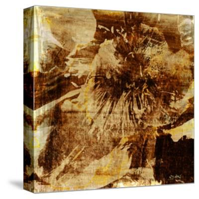 Poppy Gold I-Sia Aryai-Stretched Canvas Print